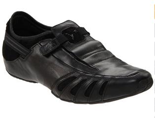 PUMA Men's Vedano Leather Slip-On Shoe.