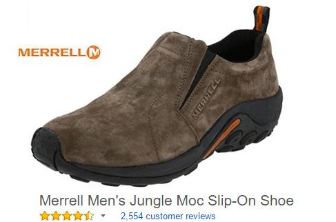 Merrell Comfortable Slip on shoes for men.