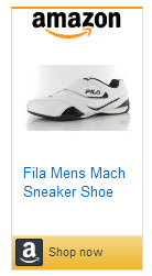 Fila velcro mach trainers