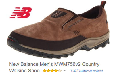 New Balance country walking shoes
