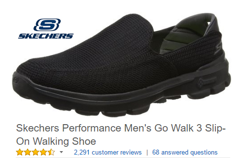 Skechers Slip On Walking Shoes Go Walk 3