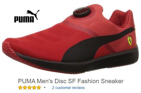 Puma disc Puma sport shoes without laces