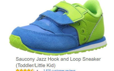Saucony Jazz Toddler Velcro Sneakers