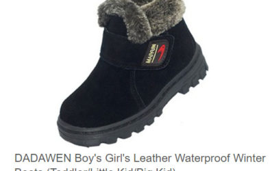 Velcro winter boots for kids by KEEN
