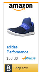 Adidas Performance trainers without laces for men