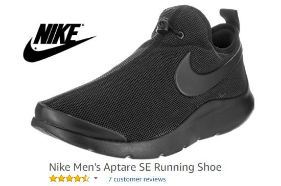 Nike running shoes with no strings