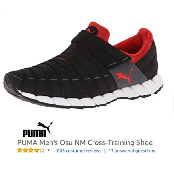puma no laces trainers