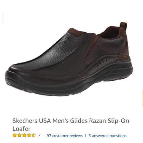 Skechers USA Men's Glides Razan Slip-On Loafer