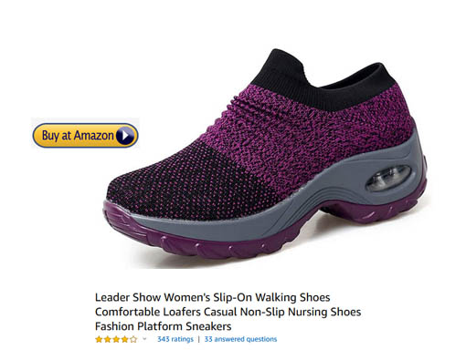 Sneakers without laces, comforable and